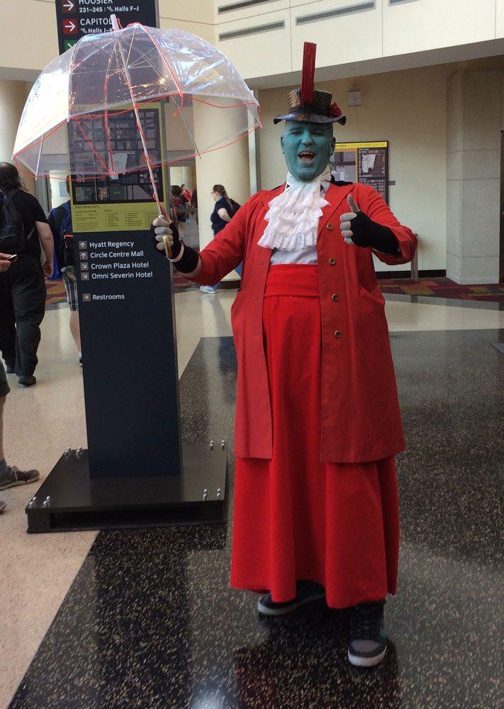 Yondu Mary Poppins cosplay