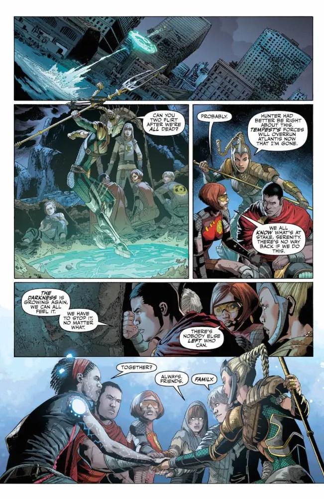 Justice League #26, Bryan Hitch