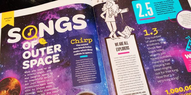 Inside Kazoo magazine - science content and more