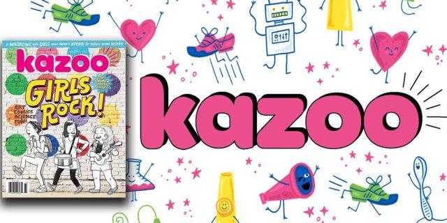 Kazoo Magazine for Girls