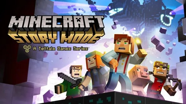 Minecraft Story Mode Logo