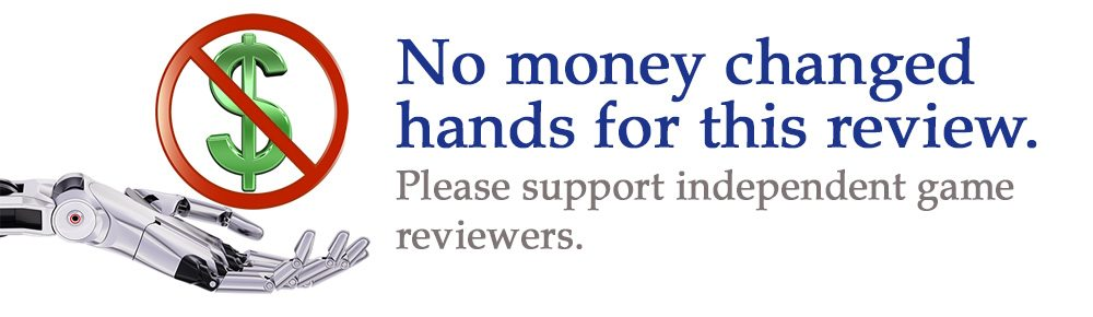 No money changed hands for this review.