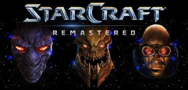 StarCraft Remastered Logo, copyright: Blizzard Entertainment