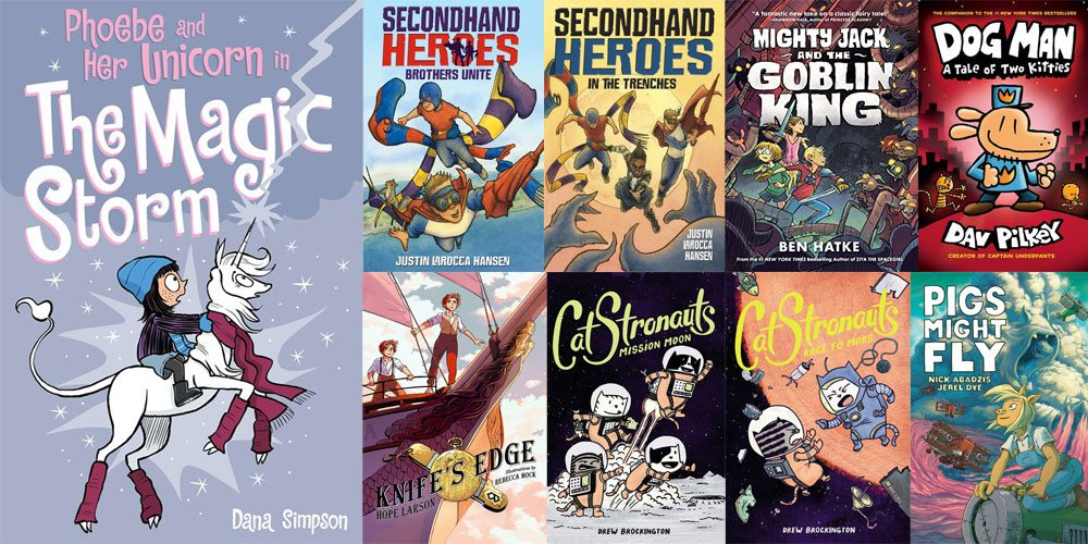 Stack Overflow: 9 Comic Books for Young Readers