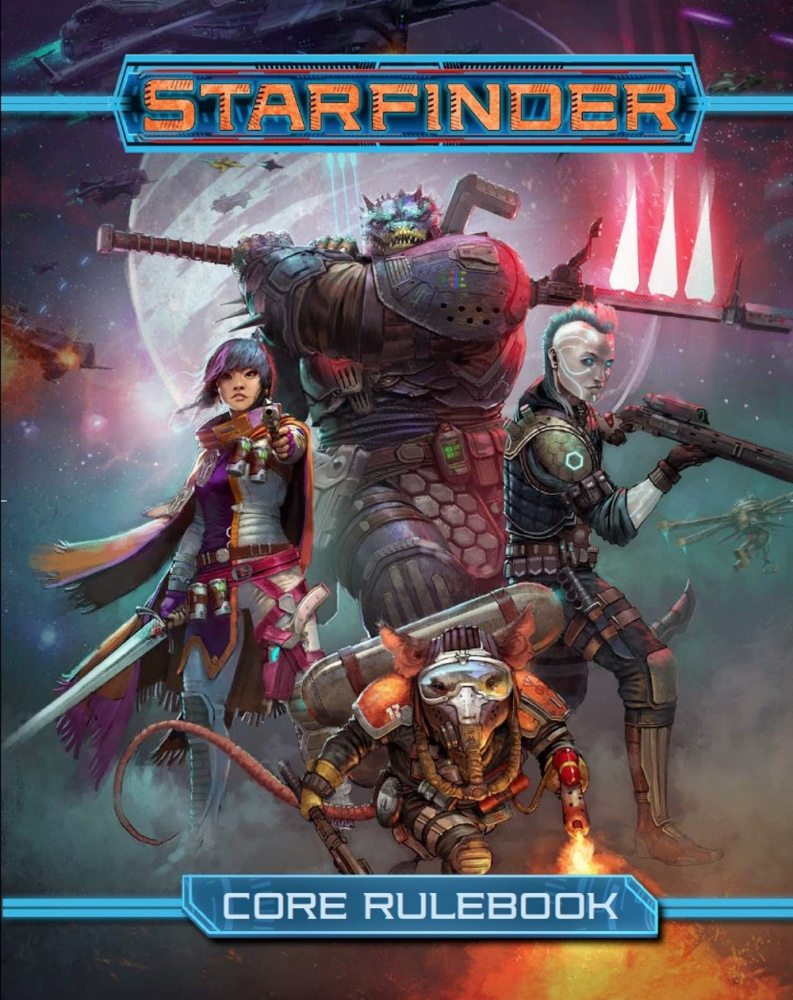 Explore the Galaxy With the 'Starfinder RPG,' Sold Out at GenCon