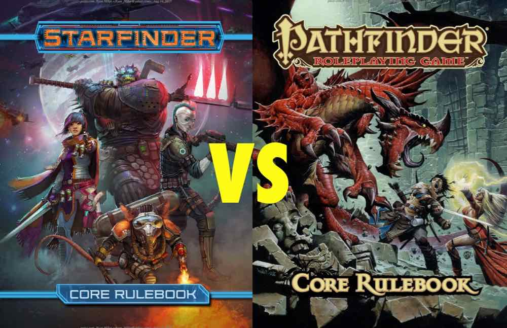 15 Key Differences Between 'Starfinder' and 'Pathfinder' RPGs