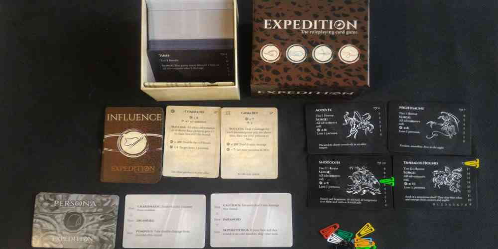 Expedition Cards and Box