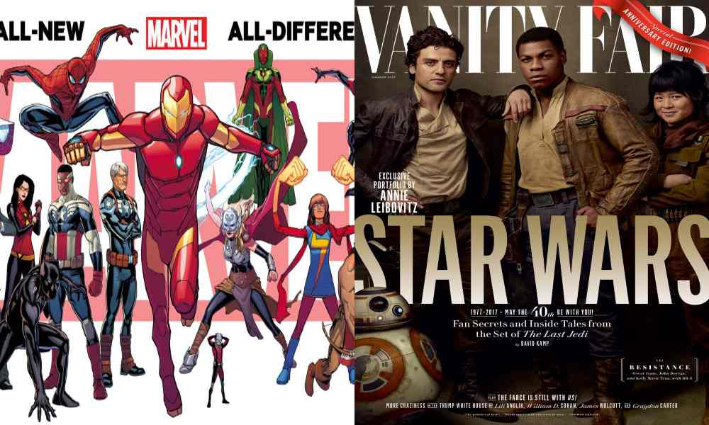 Marvel and Star Wars Diversity