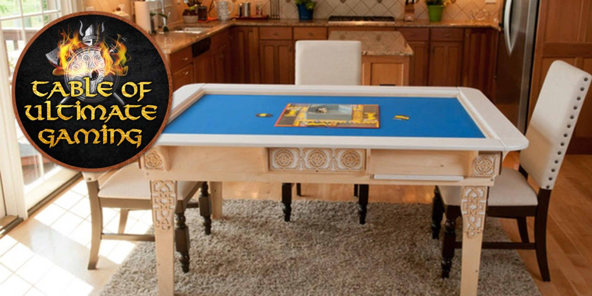 The Table Of Ultimate Gaming Launches On Kickstarter Geekdad