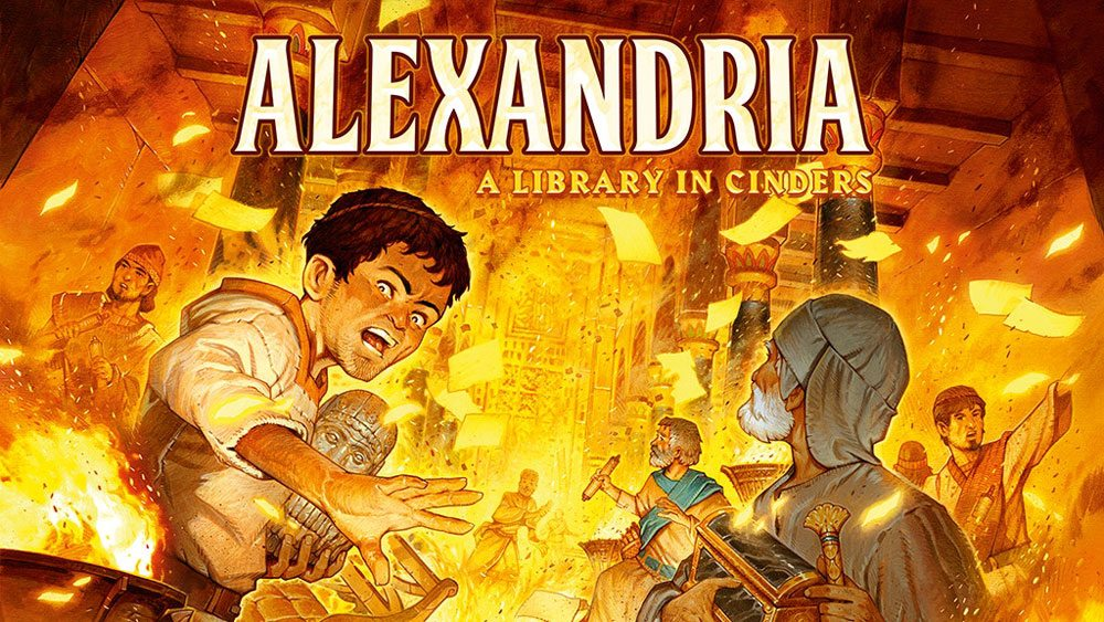 Alexandria: A Library in Cinders