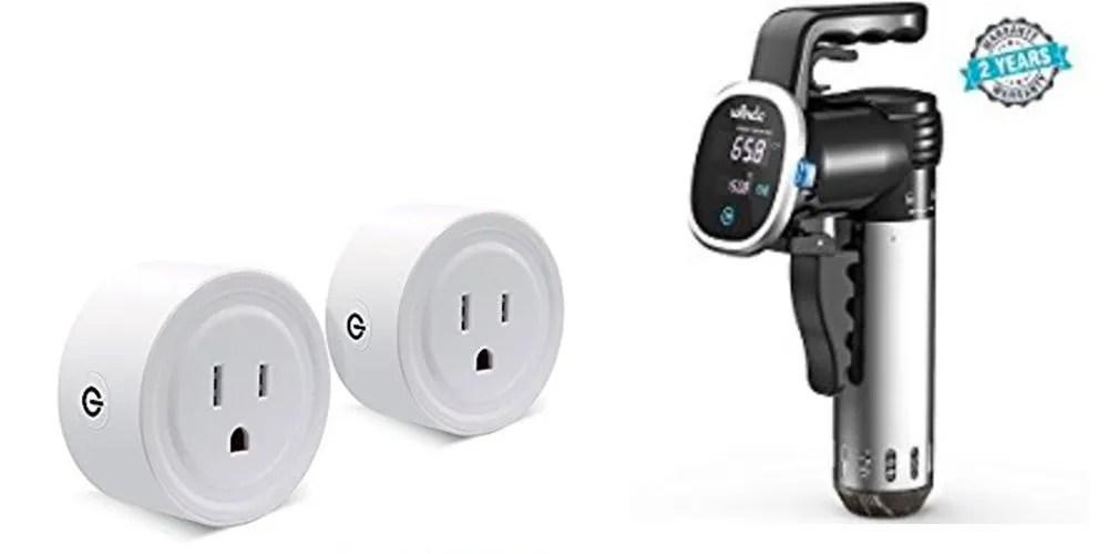 Geek Daily Deals 090217 smart plugs sous vide cooker