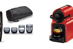 Geek Daily Deals 093017 norelco trimmer nespresso cofffee maker