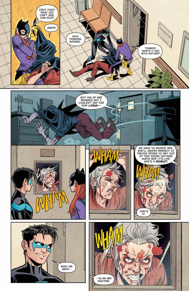 Dick and Babs, Batgirl #15, 2017