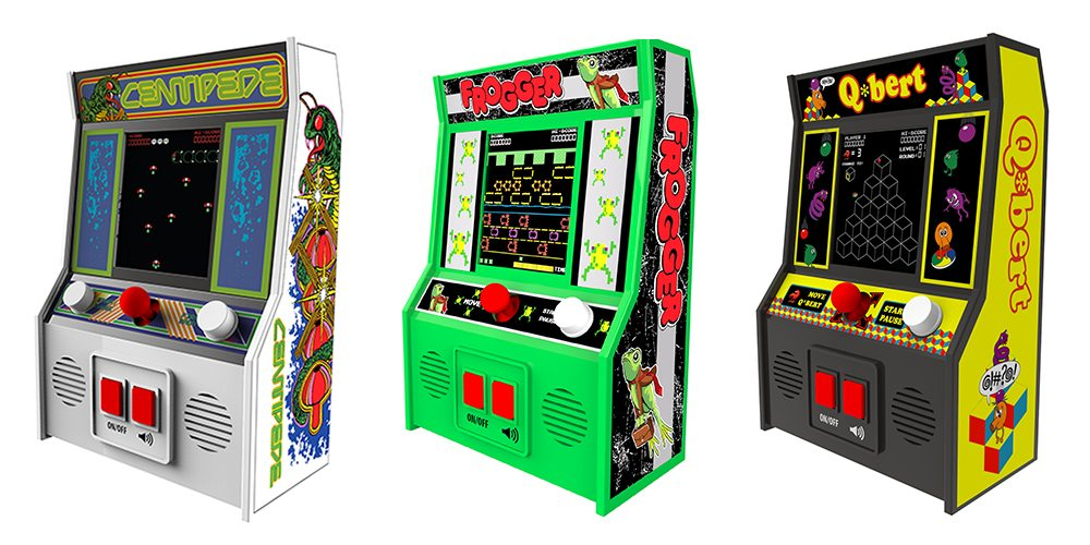 Classic Mini Arcades: Gaming Nostalgia Without the Quarters