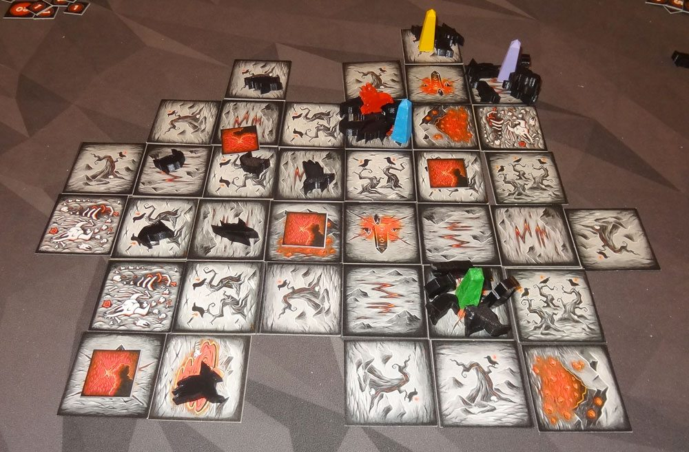 Tyler Sigman's Crows 4-player game
