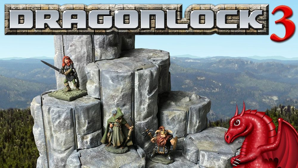 photograph regarding 3d Printable Terrain named Contemporary Kickstarter - Dragonlock 3: 3D-Printable Terrain - GeekDad