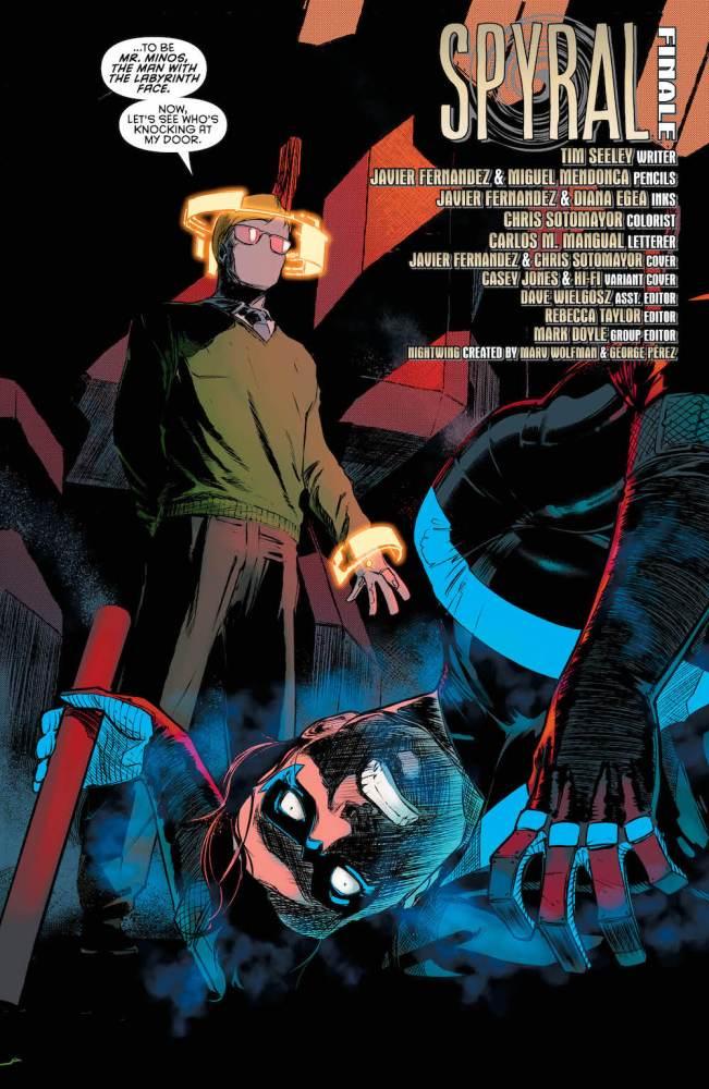 Nightwing #28, 2017