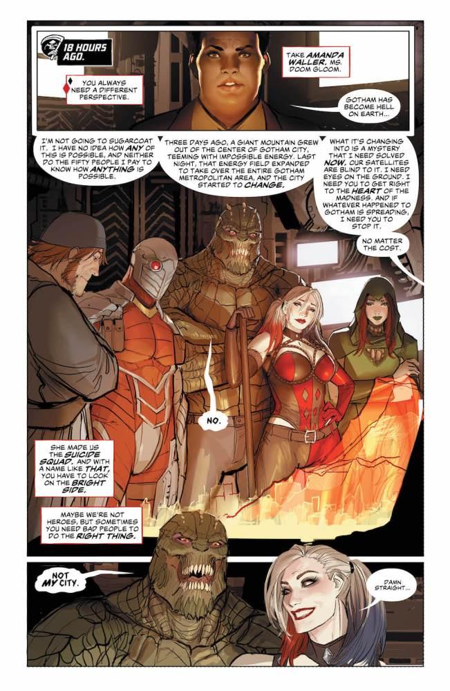 Sejic art, Suicide Squad #26, 2017