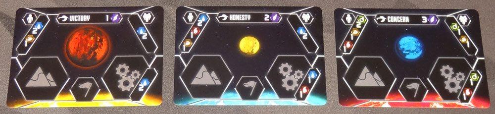 Stellar Leap planet cards