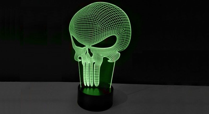 Show Everyone That Youu0027re A Real Fan With Todayu0027s Daily Deal, Superhero 3D  Illusion Lamps. Choose From Batman, Spider Man, Iron Man, Deadpool, And  Punisher.