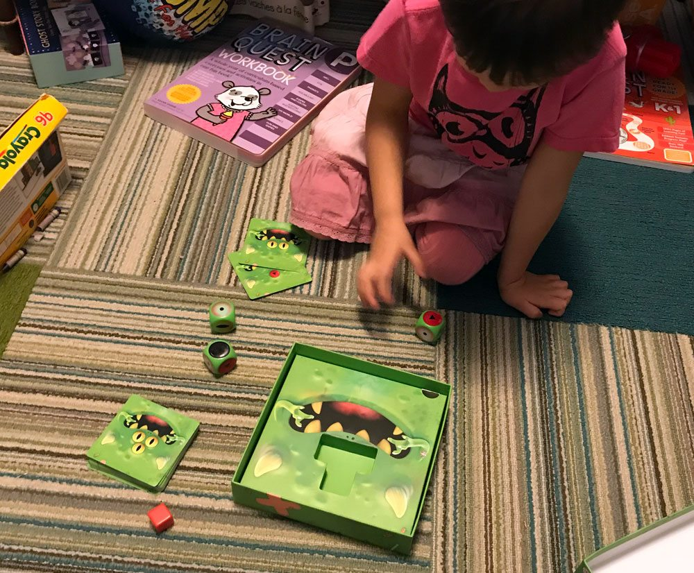 TerrorEyes 4-year-old playing