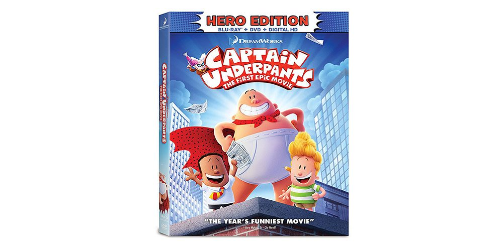 captain underpants epic first movie