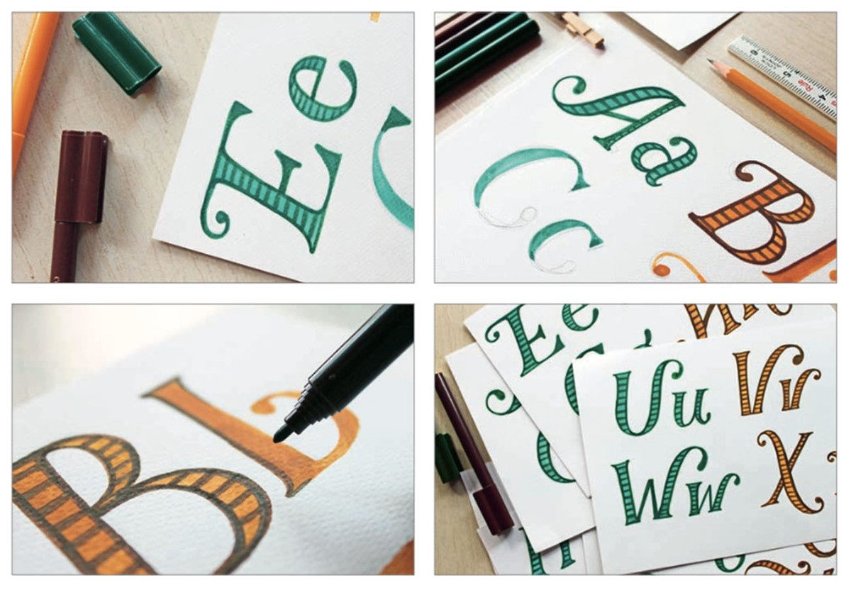 Turn Words Into Art With Hand Lettering A To Z