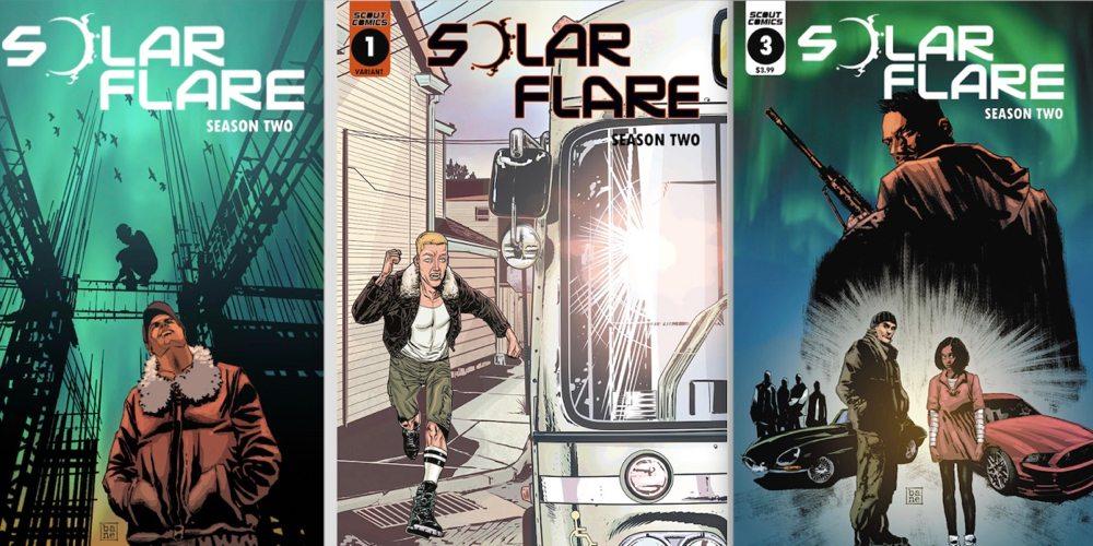 'Solar Flare' Season 2: Science Meets Comic Book Science Fiction