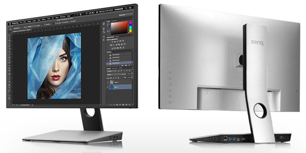 """BenQ 27"""" Designer Monitor is USB-C connected and packed with features."""