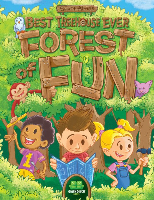 Best Treehouse Ever: Forest of Fun cover