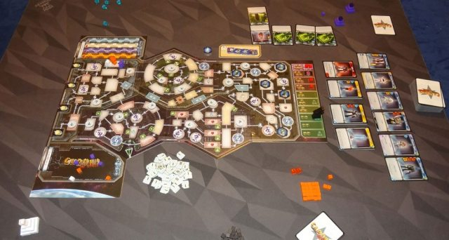 Clank! In! Space! 3 player setup