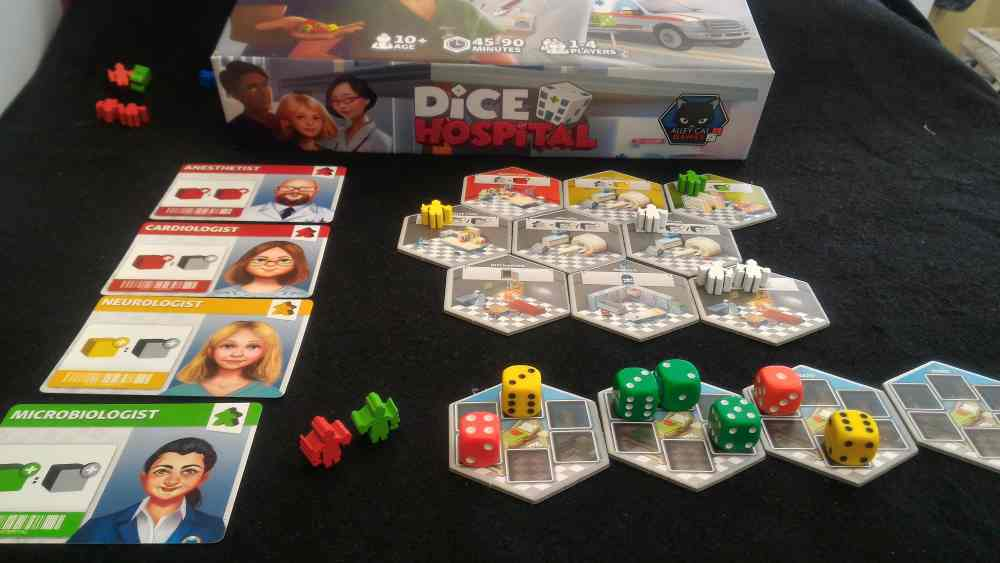 Tabletop Kickstarter Alert: 'Dice Hospital'