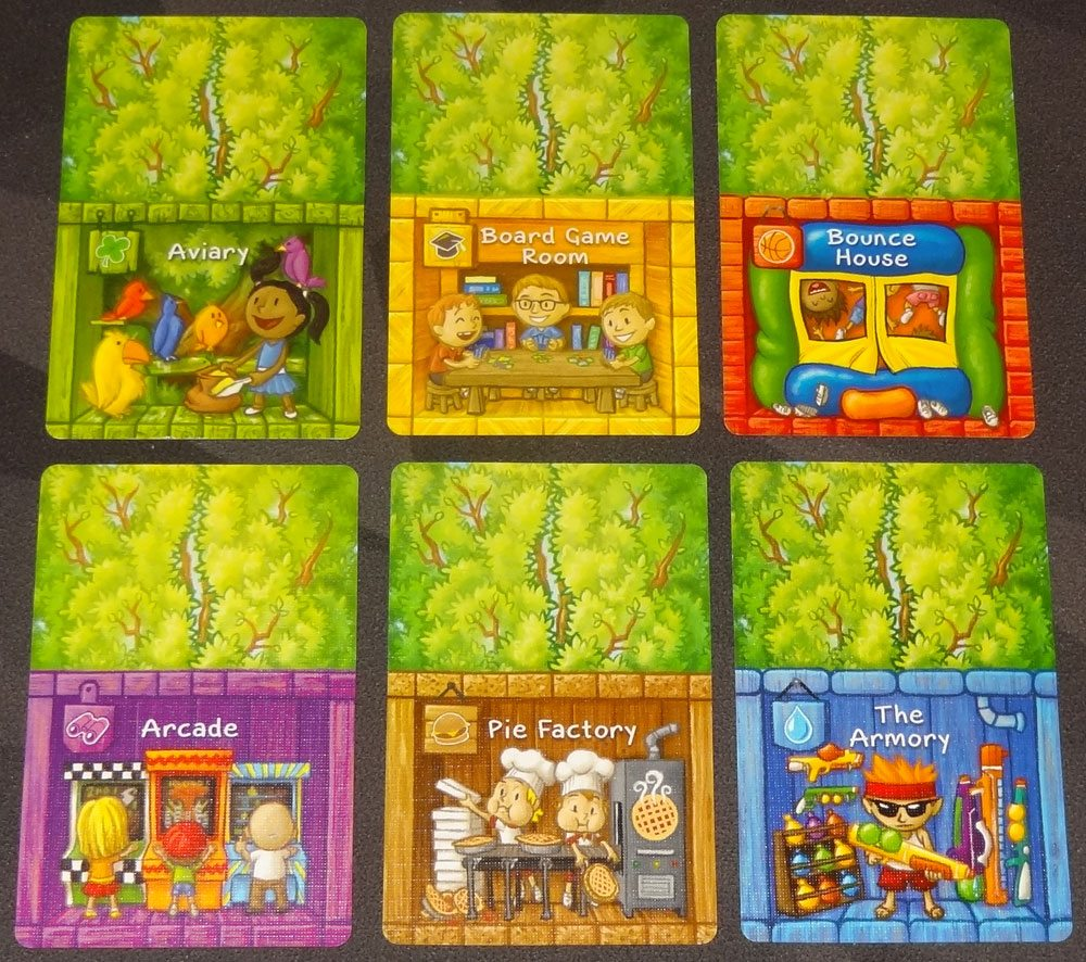 Best Treehouse Ever room cards