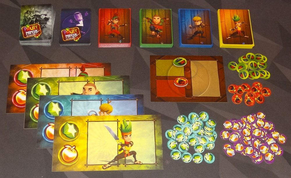 Fruit Ninja: Card Master components