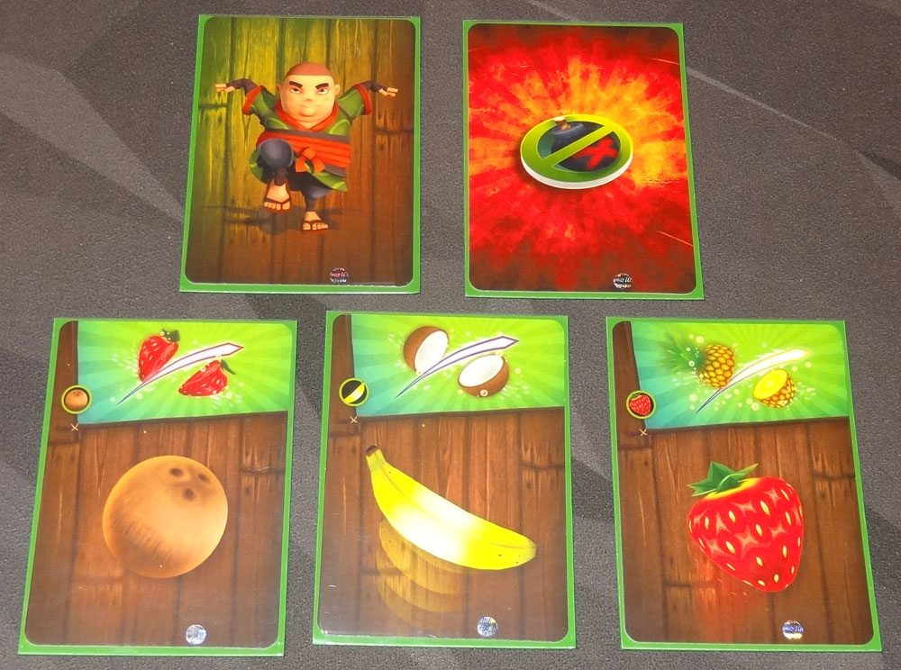 Fruit Ninja: Card Master starting cards