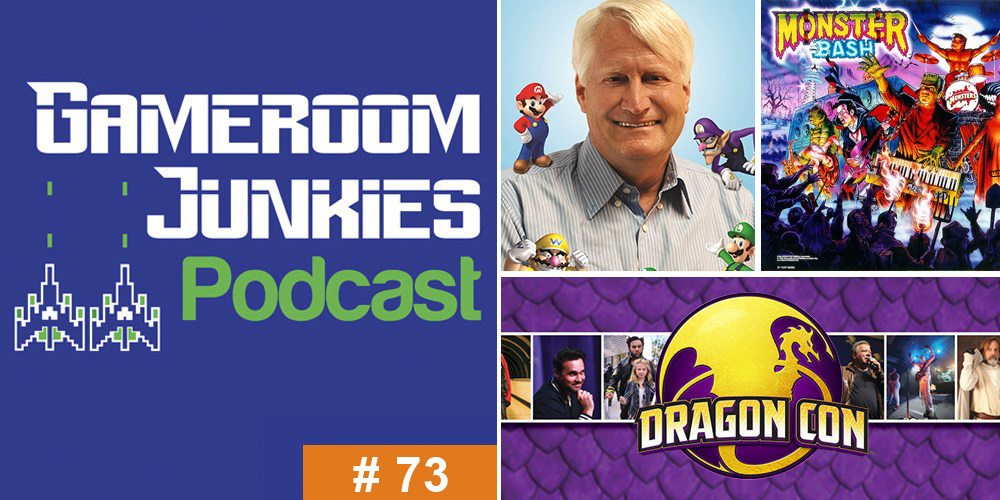 Gameroom Junkies Podcast #73 - Charles Martinet