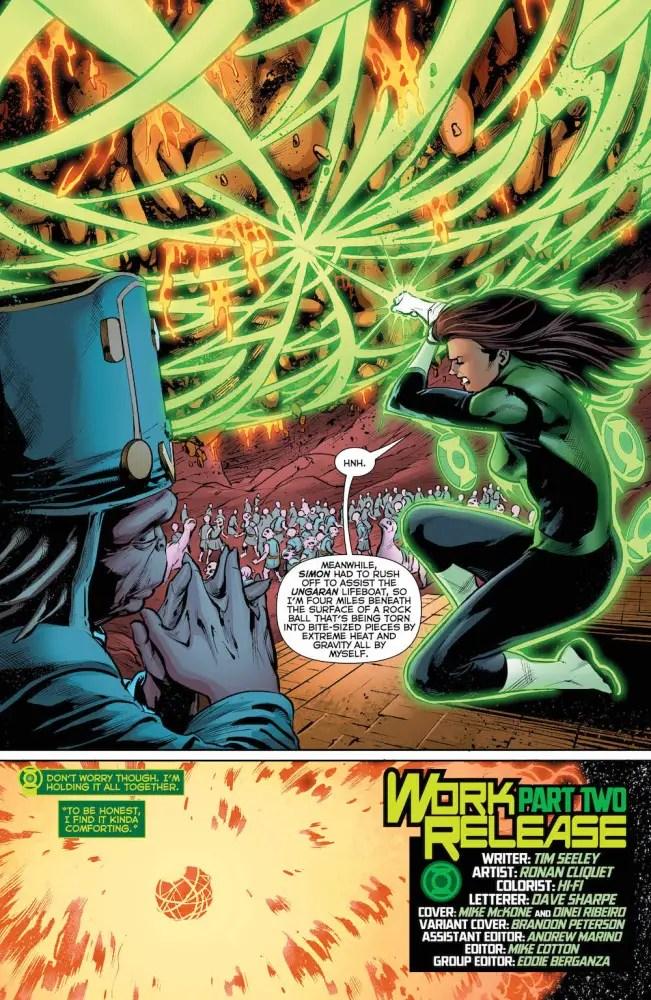 Jessica Cruz, Green Lanterns, 2017