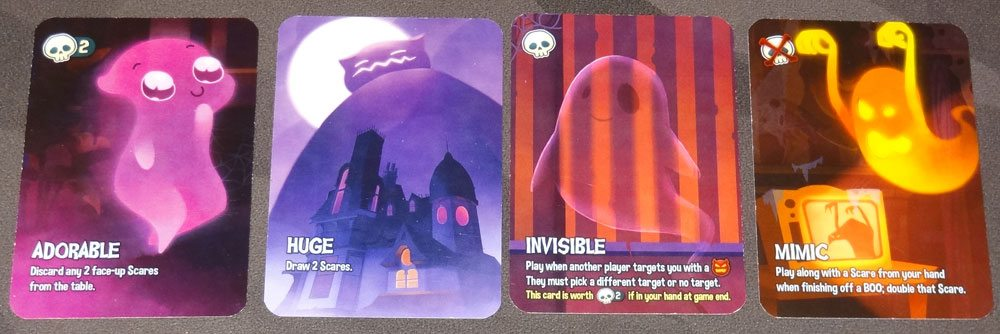 Haunt the House phantom cards