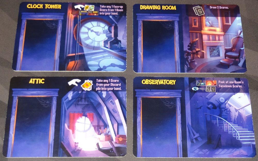 Haunt the House room tiles