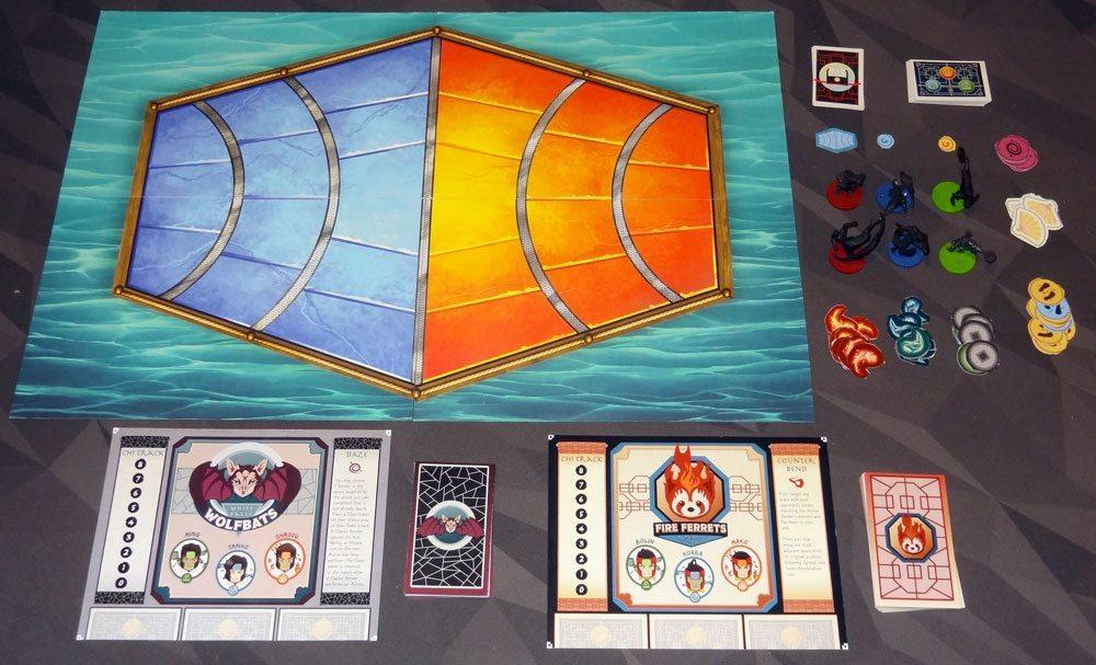 Legend of Korra: Pro-bending Arena components