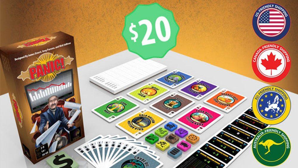 Kickstarter Tabletop Alert: 'Panic!'