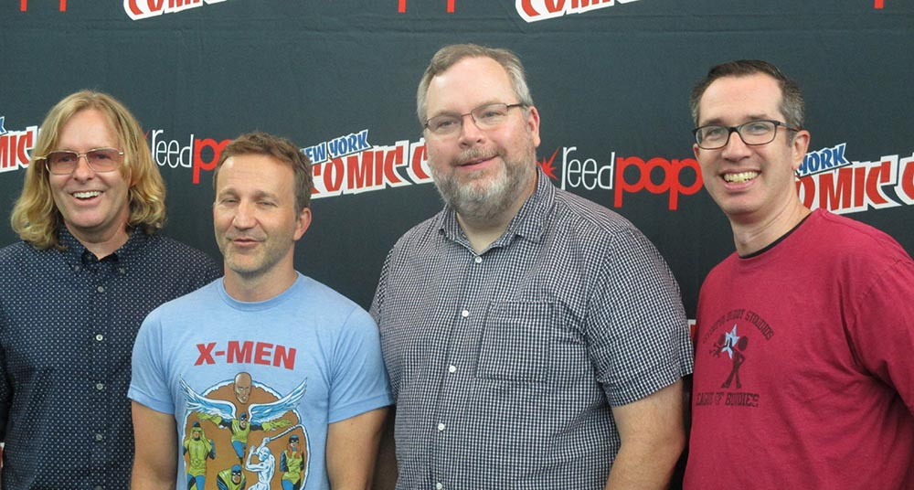 'Robot Chicken' Interview With Matthew Senreich and Tom Sheppard at NYCC