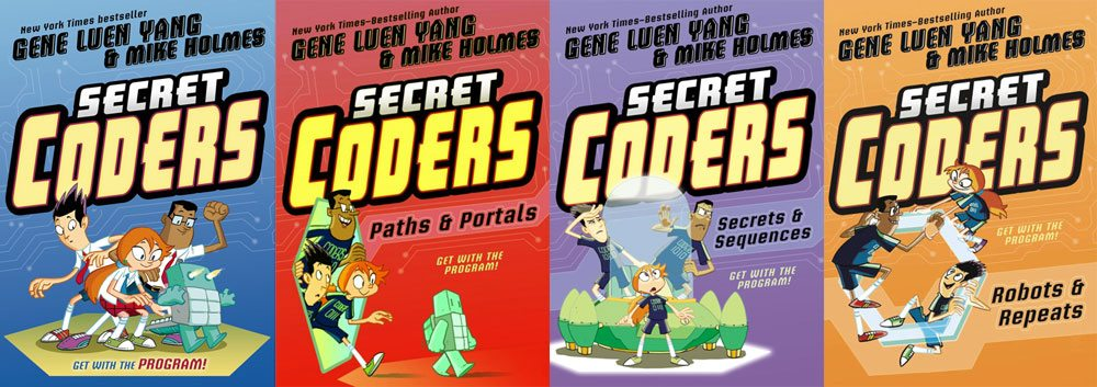Secret Coders 1-4