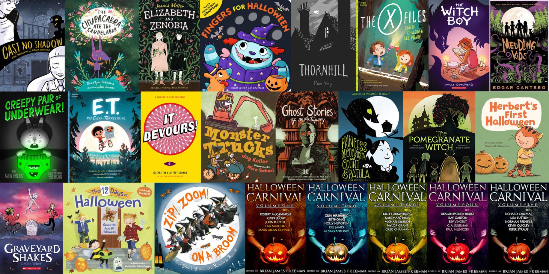 "Stack Overflow: 21 Titles for Halloween That Put the ""Boo!"" in Books"
