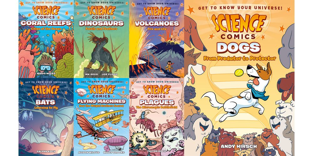 Stack Overflow: 7 'Science Comics' from First Second