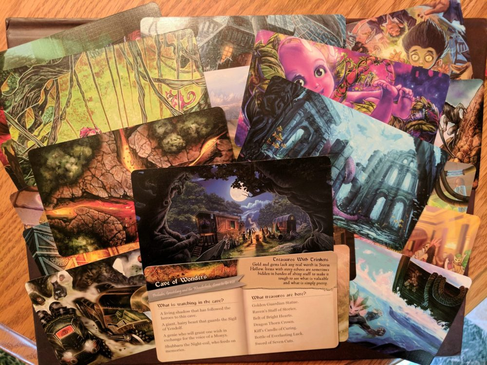 Storm Hollow Preludes Scene to Go Cards