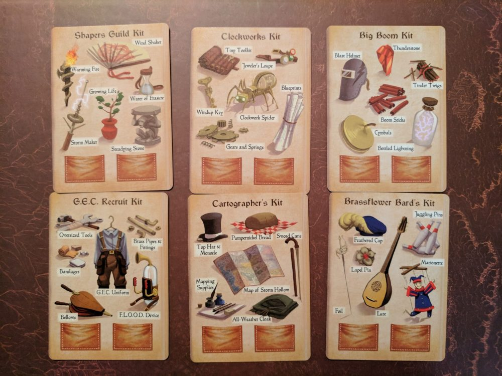 Storm Hollow Tales of a New Age Adventure Kit Cards