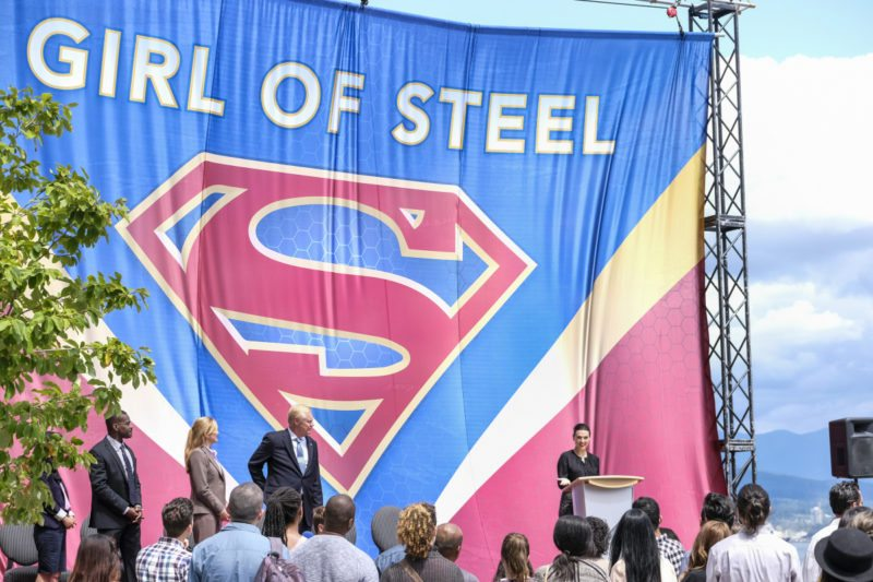 "Supergirl -- ""Girl of Steel"" -- SPG301b_0105.jpg ñ Pictured: Katie McGrath as Lena Luthor -- Photo: Bettina Strauss/The CW -- © 2017 The CW Network, LLC. All Rights Reserved"