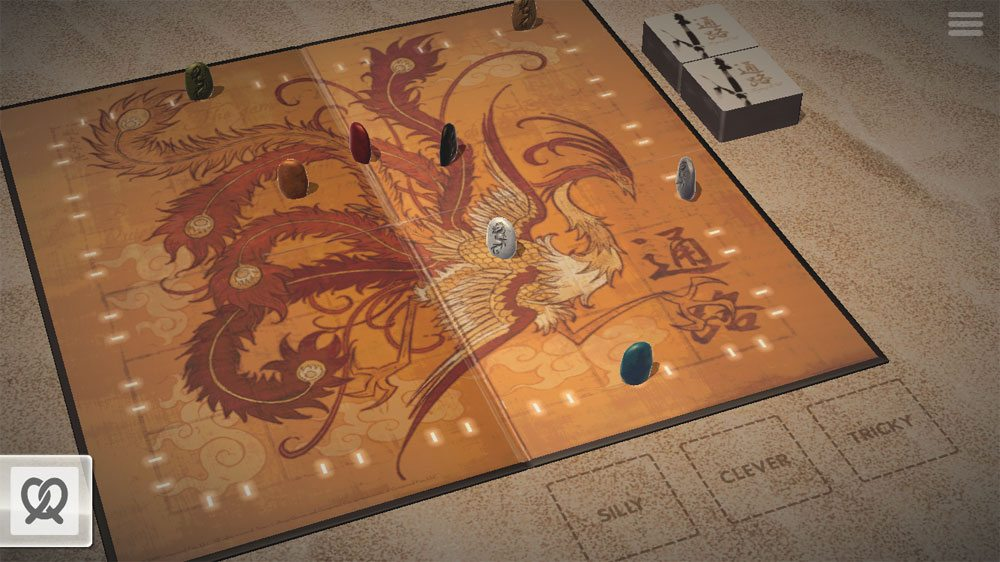 Tsuro app setup screen