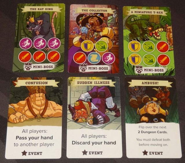 5-Minute Dungeon challenge cards